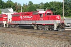 Τραίνο Sittin RJ Corman σε Cresson PA Στοκ Φωτογραφίες