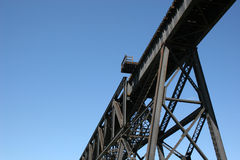 τραίνο tressel στοκ φωτογραφία