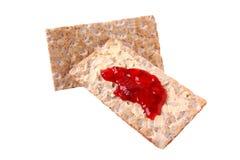 τραγανή μαρμελάδα ψωμιού Στοκ φωτογραφία με δικαίωμα ελεύθερης χρήσης