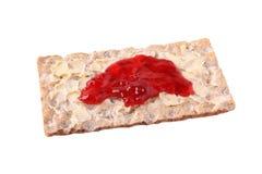 τραγανή μαρμελάδα ψωμιού Στοκ Εικόνα