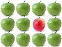 τραγανός φρέσκος μήλων στοκ εικόνα με δικαίωμα ελεύθερης χρήσης