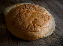 Τραγανό κενό πιάτο ψωμιού Στοκ Εικόνες
