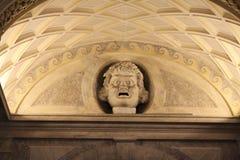 Τραγελαφικό πέτρινο κεφάλι Στοκ Φωτογραφία