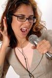 τραγουδήστε το τραγούδ&i Στοκ Εικόνα