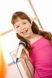 τραγουδιστής μαθητριών π&omi στοκ εικόνες με δικαίωμα ελεύθερης χρήσης
