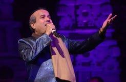 Τραγουδιστής Bollywood σε Bodhgaya, bihar, Ινδία Στοκ Εικόνες