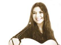 τραγουδοποιός 2 τραγουδιστών στοκ φωτογραφία