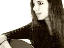 τραγουδοποιός 5 τραγουδιστών Στοκ Φωτογραφίες