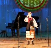 Τραγουδιστές καλλιτεχνών παιδιών Στοκ Φωτογραφίες