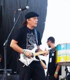 Τραγουδιστής και κιθαρίστας Armandinho Macedo Στοκ Εικόνες