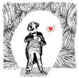 Τραγουδιστής οπερών (διάνυσμα) ελεύθερη απεικόνιση δικαιώματος