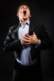 Τραγουδιστής οπερών Στοκ φωτογραφίες με δικαίωμα ελεύθερης χρήσης