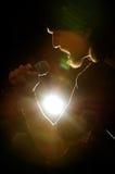 Τραγουδιστής, που ο Mike Στοκ φωτογραφίες με δικαίωμα ελεύθερης χρήσης