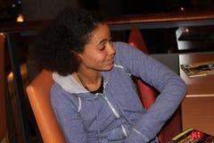 Τραγουδιστής/συγγραφέας Nneka τραγουδιού Στοκ Εικόνα