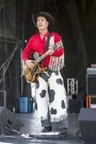 Τραγουδιστής της μουσικής country Στοκ εικόνες με δικαίωμα ελεύθερης χρήσης