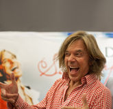 Τραγουδιστής Juergen Drews Στοκ Εικόνες