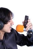 τραγουδιστής ringtone Στοκ φωτογραφίες με δικαίωμα ελεύθερης χρήσης