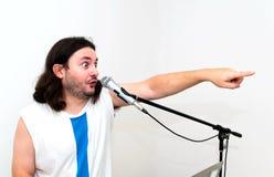 τραγούδι ατόμων στοκ φωτογραφίες