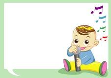 τραγούδι μωρών Στοκ φωτογραφίες με δικαίωμα ελεύθερης χρήσης