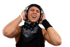 τραγούδι του DJ Στοκ Φωτογραφία