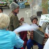Τραγούδι Cossack Στοκ φωτογραφία με δικαίωμα ελεύθερης χρήσης