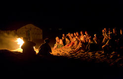 Τραγούδια πυρκαγιάς Στοκ εικόνα με δικαίωμα ελεύθερης χρήσης