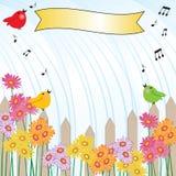 τραγούδι ντους βροχής πρόσκλησης Στοκ φωτογραφία με δικαίωμα ελεύθερης χρήσης