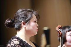 Τραγούδι Xiamen και lilei βιολιών ορχηστρών θεάτρων χορού πρώτο Στοκ Εικόνες