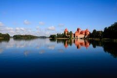 Τρακάι Castle - κάστρο νησιών στο Τρακάι Στοκ φωτογραφίες με δικαίωμα ελεύθερης χρήσης