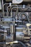 Τρακτέρ μηχανών Στοκ Εικόνες