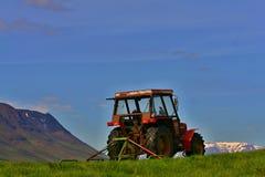 Τρακτέρ της Ισλανδίας Στοκ φωτογραφία με δικαίωμα ελεύθερης χρήσης