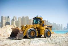 τρακτέρ του Ντουμπάι κατασκευής Στοκ Φωτογραφία