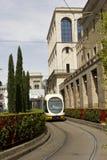 Τραμ αριθμός 3 σε Gratosoglio στο Μιλάνο Στοκ εικόνα με δικαίωμα ελεύθερης χρήσης