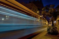 Τραμ, μητρόπολη δημόσιων συγκοινωνιών, στοκ εικόνες