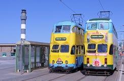 τραμ προκυμαιών του Μπλάκ&pi Στοκ φωτογραφία με δικαίωμα ελεύθερης χρήσης