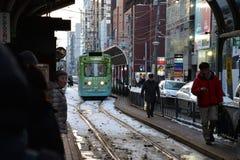 Τραμ πόλεων Στοκ φωτογραφία με δικαίωμα ελεύθερης χρήσης