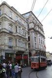 Τραμ στην οδό Στοκ Εικόνα