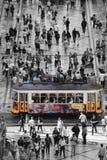 Τραμ 28 στη Λισσαβώνα Στοκ Φωτογραφία