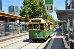 Τραμ στη Μελβούρνη στοκ φωτογραφία με δικαίωμα ελεύθερης χρήσης