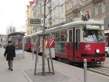 Τραμ της Βιέννης Στοκ Φωτογραφία