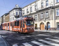 Τραμ της Κρακοβίας Στοκ Εικόνα
