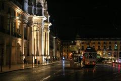 τραμ της Λισσαβώνας κίτρι&nu Στοκ φωτογραφία με δικαίωμα ελεύθερης χρήσης