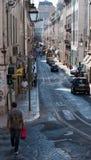 τραμ της Λισσαβώνας Στοκ Φωτογραφίες