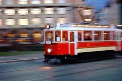 τραμ της Πράγας Στοκ εικόνες με δικαίωμα ελεύθερης χρήσης