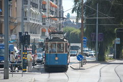 Τραμ της Στοκχόλμης Στοκ Εικόνες