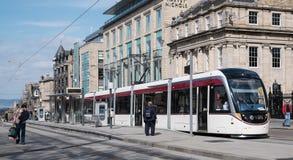 Τραμ 1 του Εδιμβούργου Στοκ Φωτογραφίες