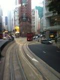Τραμ του HK Στοκ Φωτογραφίες