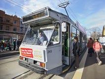 Τραμ του ST Kilda, Μελβούρνη Στοκ εικόνα με δικαίωμα ελεύθερης χρήσης