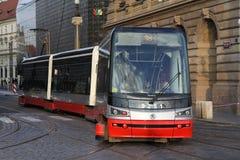 Τραμ, τραμ, καροτσάκι Στοκ Εικόνες