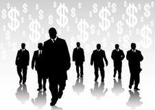 τραπεζίτες ελεύθερη απεικόνιση δικαιώματος